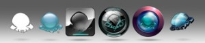 Conz logo variations