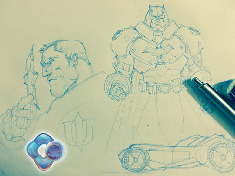 Batman Doodles Dr Conz